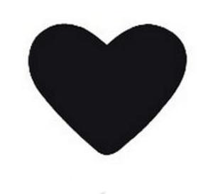 Dziurkacz ozdobny Heyda 2,5cm 01 serce x1