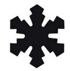 Dziurkacz ozdobny Heyda 2,5cm 08 śnieżynka x1 - 2824964290