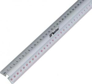 Linijka aluminiowa dwustronna z uchwytem 20cm x1