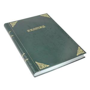 Kronika A3 160k. Barbara pionowa zielona szyta x1 - 2824959378
