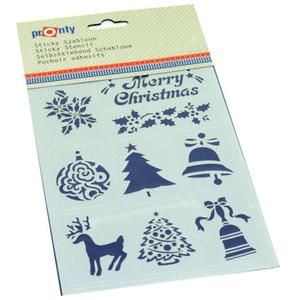 Szablon A5 Pronty - Merry Christmas x1 - 2859674129