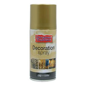 Farba dekoracyjana w spray'u 150ml - złota x1