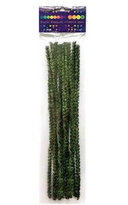 Druciki kreatywne 30cm gałązki sosny x12