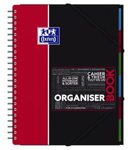 Kołonotatnik A4+ 90g 80k Oxford Organizer Book x1 - 2824964613