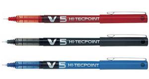 Cienkopis Pilot V5 Hi-Tecpoint czerwony x1