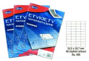 Etykiety Grand 52,5x29,7mm x100 - 2861942259
