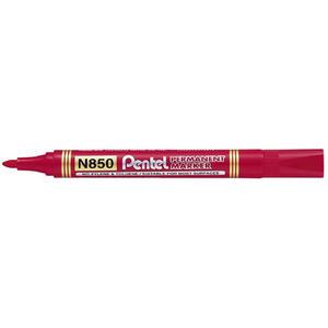 Marker Pentel N850 czerwony x1