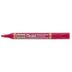 Marker Pentel N860 czerwony x1