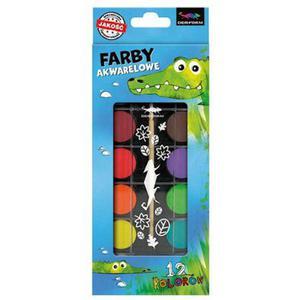 Farby akwarelowe KIdart 12 kol x1