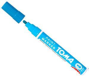 Marker olejowy Toma 2,5mm jasno niebieski x1