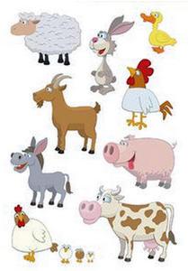 Naklejki HERMA Decor 3067 zwierzęta domowe x1