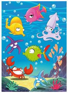 Naklejki HERMA Magic 3164 zwierzęta wodne x1