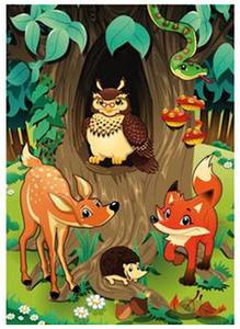 Naklejki HERMA Magic 3166 zwierzęta leśne x1