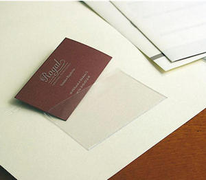 Kieszonka samoprzylepna prostokątna x10