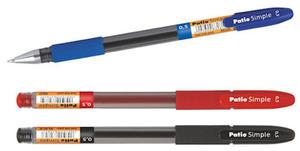 Długopis żelowy Patio Simple 0,5 - czarny x1 - 2855493809