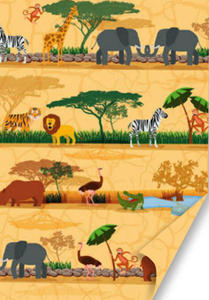 Karton B2 300g Heyda Kids Wild Animals x1