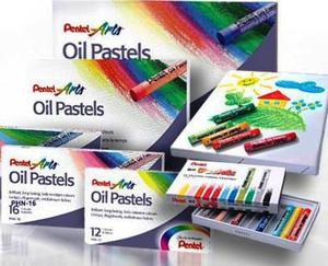 Pastele olejne Pentel 16kol x1