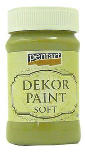 Farba kredowa Pentart 100ml - 21479 oliwkowa x1