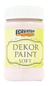 Farba kredowa Pentart 100ml - 21476 róż victor. x1