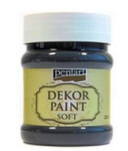 Farba kredowa Pentart 230ml - 21491 czarna x1