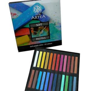 Pastele suche Astra Soft Pastels 24kol x1