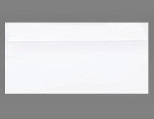 Koperta DL NK 120g Amber biała x100