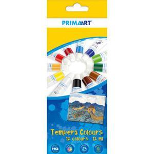 Farby tempery Prima Art - 12 kolorów x1