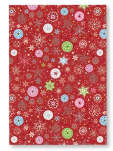 Karton B2 300g Heyda Christmas Gwiazdy Red x1 - 2824966551