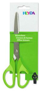 Nożyczki Heyda 18cm - zielone x1