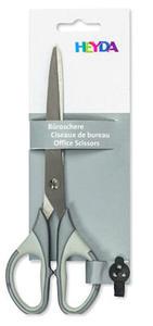 Nożyczki Heyda 18cm - szare x1