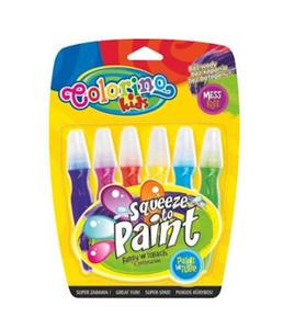 Farby Patio w tubach z pędzelkiem 6szt. x1