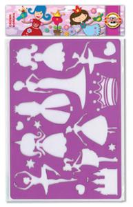 Szablon Koh-I-Noor - 9820008 księżniczka x1