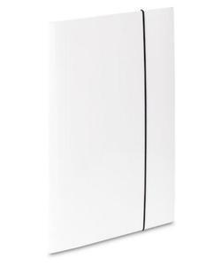 Teczka A4 z gumką VauPe Soft (1) biała x1