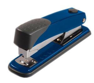 Zszywacz - Tetis GV-104 - niebieski x1