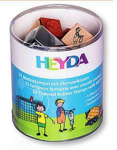 Stemple Heyda - zestaw Piłkarze,Drogowcy 15e x1