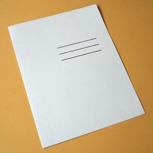 Skoroszyt papierowy A4 biały x1