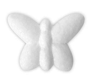 Styropianowe motylki 65mm x6