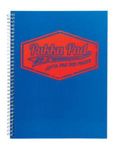 Kołonotatnik A5 Pukka Pad Jotta Neon niebieski x1 - 2824966925