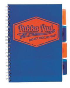 Kołonotatnik B5 Pukka Project Book Neon niebies x1
