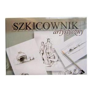 Szkicownik A4 120g Kreska 100k x1