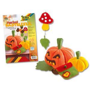 Filc kolorowy 1,5mm A4 Folia mix jesienny x10
