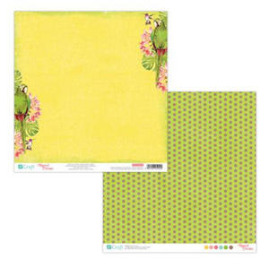 Papier do scrapbookingu 2-str Tropical 02 x5