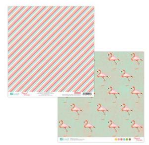 Papier do scrapbookingu 2-str Tropical 03 x5