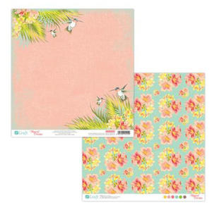 Papier do scrapbookingu 2-str Tropical 05 x5