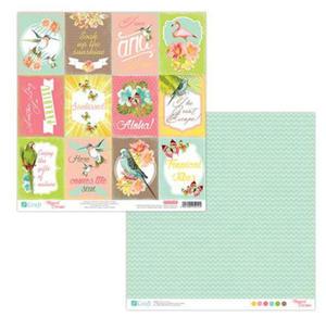 Papier do scrapbookingu 2-str Tropical 07 x5