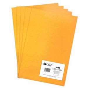 Filc dekoracyjny A4 005 dark yellow x5
