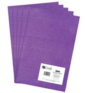 Filc dekoracyjny A4 009 purple x5 - 2824967790