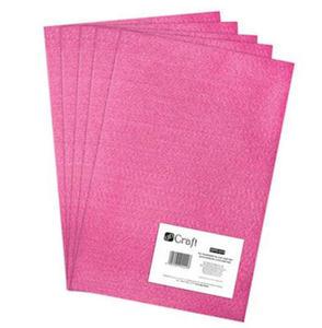 Filc dekoracyjny A4 013 dark pink x5 - 2824967794