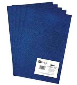 Filc dekoracyjny A4 014 royal blue x5 - 2824967795