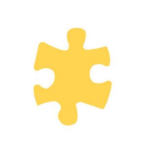 Dziurkacz ozdobny 115 - 028 puzzle x1